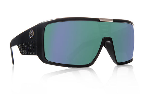 Dragon - Domo Matte Black Sunglasses / Green Ion Lenses