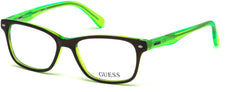 Guess - GU9172 Light Green Eyeglasses / Demo Lenses