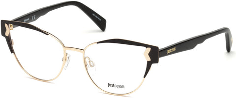 Just Cavalli - JC0816 Shiny Black Eyeglasses / Demo Lenses