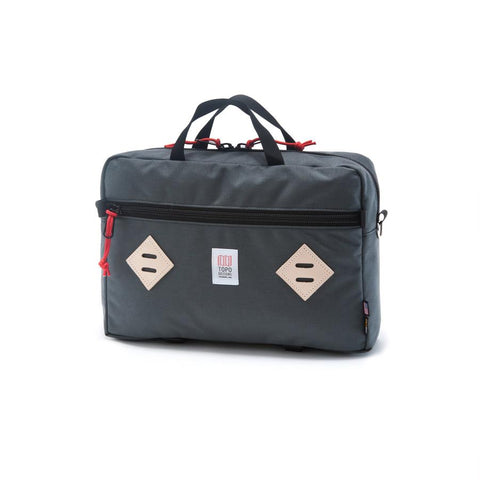 Topo Designs - Charcoal Unisex Mountain Briefcase