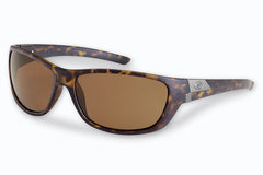 Flying Fisherman - Bahia 7394 Matte Tortoise Sunglasses, Amber Lenses