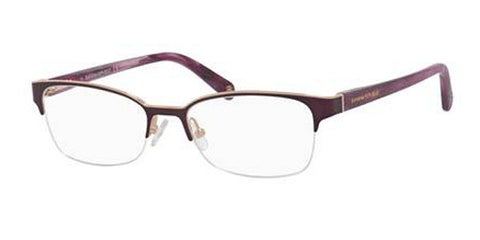 Banana Republic - Elsa 53mm Matte Purple Violet Eyeglasses / Demo Lenses