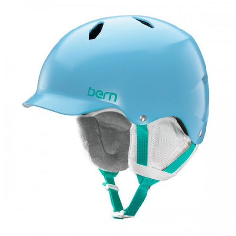 Bern - Bandita Satin Light Blue Snow Helmet