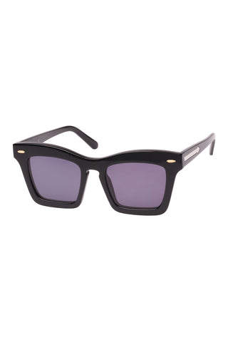 Karen Walker - Banks Black Sunglasses / Black Lenses