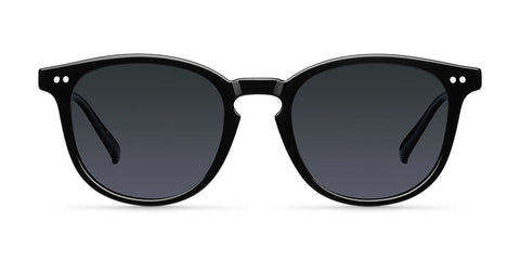 Meller - Banna 45mm All Black Sunglasses / Black Polarized Lenses