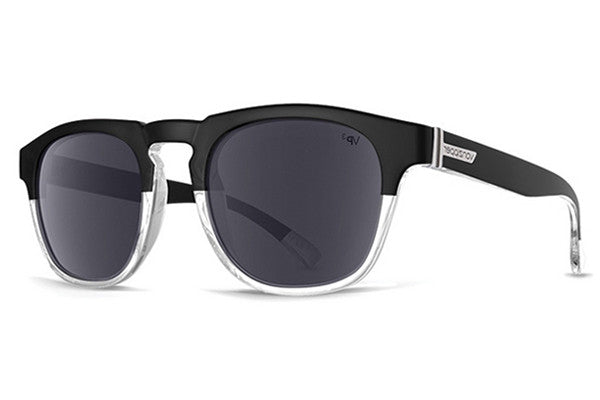 VonZipper - Banner Joel Signature Black JL3 Sunglasses, Silver Lenses
