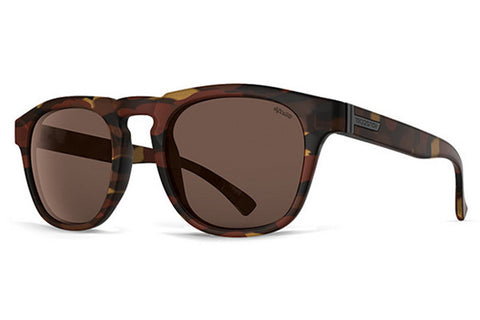 VonZipper - Banner Tobacco Tortoise POB Sunglasses, Wildlife Bronze Polarized Lenses