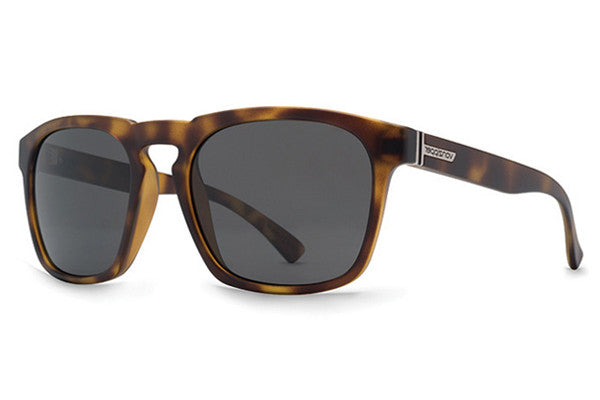 VonZipper - Banner Tortoise TOR Sunglasses, Grey Lenses