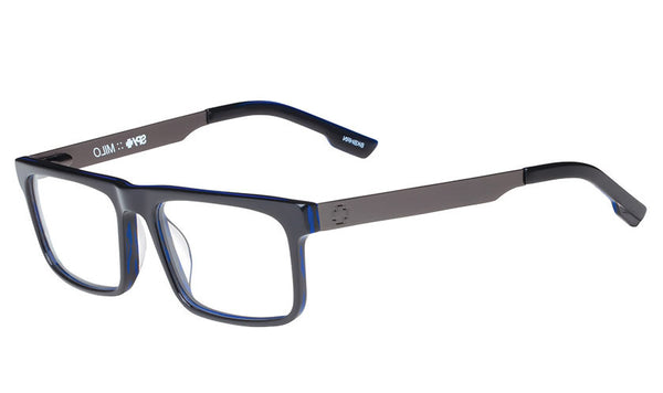 Spy - Milo Black/Blue Horn Rx Glasses