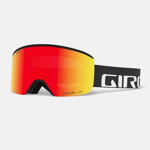 Giro - Axis Black Wordmark Snow Goggles / Vivid Emerald + Vivid Infrared Lenses
