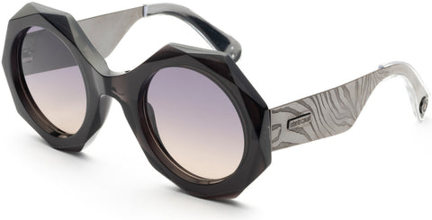 Roberto Cavalli - RC1113 Grey Sunglasses / Smoke Mirror Lenses