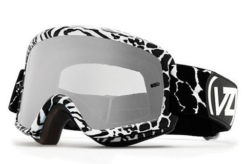 VonZipper - Beefy Party Animals Black & White PAK Moto Goggles