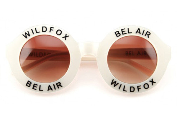 Wildfox - Bel Air Pearl White Sunglasses
