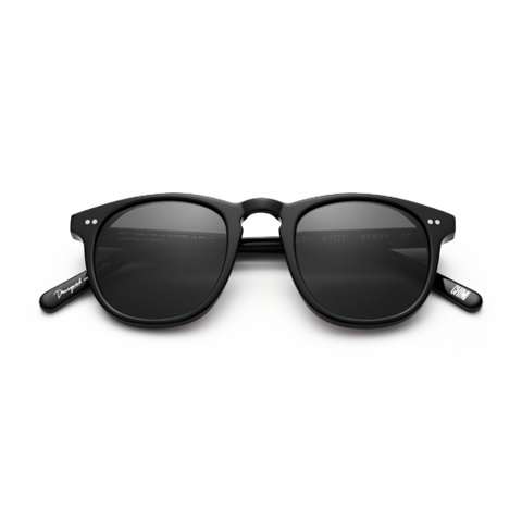CHiMi - #001 47mm Berry Sunglasses / Black Lenses