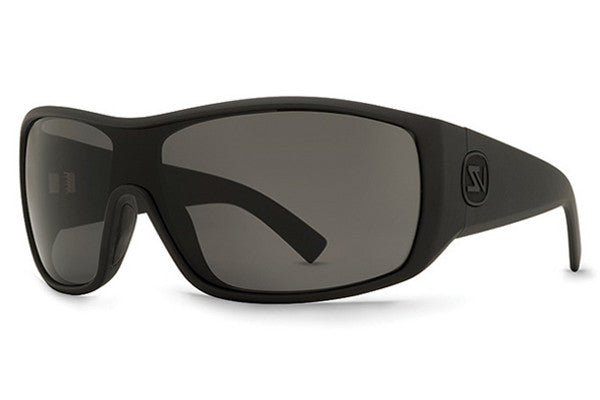 VonZipper - Berzerker Black Satin BKS Sunglasses, Grey Lenses
