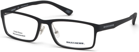 Skechers - SE3225 Matte Black Eyeglasses / Demo Lenses