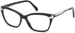 Emilio Pucci - EP5049 Black + White Eyeglasses / Demo Lenses