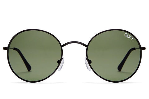 Quay Mod Star Black / Green Sunglasses