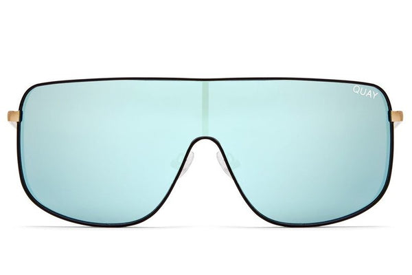 406232cadd Quay  QUAYXKYLIE Unbothered Black   Mint Sunglasses – New York Glass