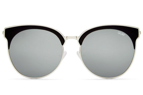 Quay Mia Bella Black / Silver Sunglasses