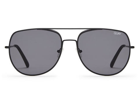 Quay Living Large Black / Smoke Sunglasses