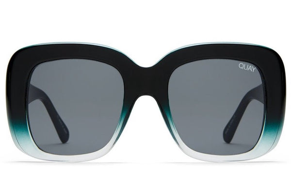 fb9bbfb4a6 Quay Day After Day Black Green Sunglasses