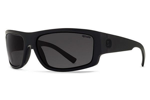 VonZipper - Semi Black Satin PSS Sunglasses, Wildlife Black Polarized Lenses