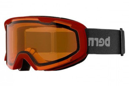 Bern - Brewster X Black / Red Goggles, Orange Lenses