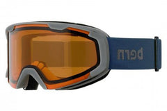 Bern - Brewster X Navy Goggles, Orange Lenses