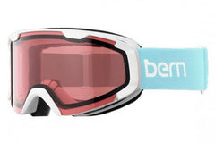 Bern - Brewster X Powder Blue Goggles, Rose Lenses