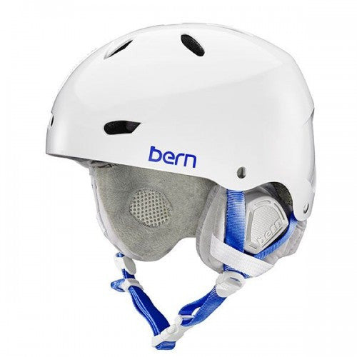 Bern - Brighton Satin Black Snow Helmet