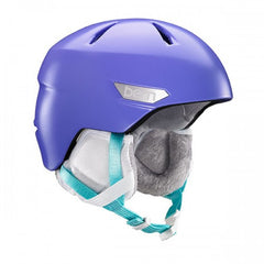Bern - Bristow JR Satin Bright Purple Snow Helmet