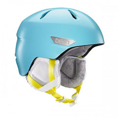Bern - Bristow JR Satin Cyan Blue Snow Helmet