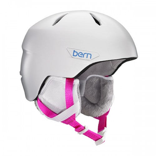 Bern - Bristow JR Satin White Snow Helmet