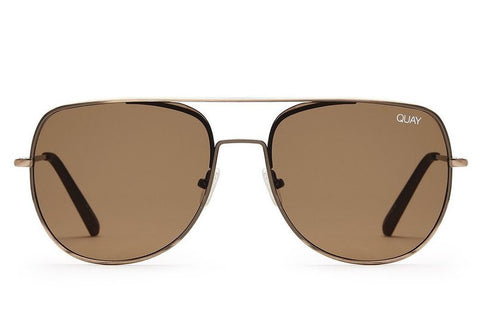 Quay Living Large Bronze / Brown Sunglasses