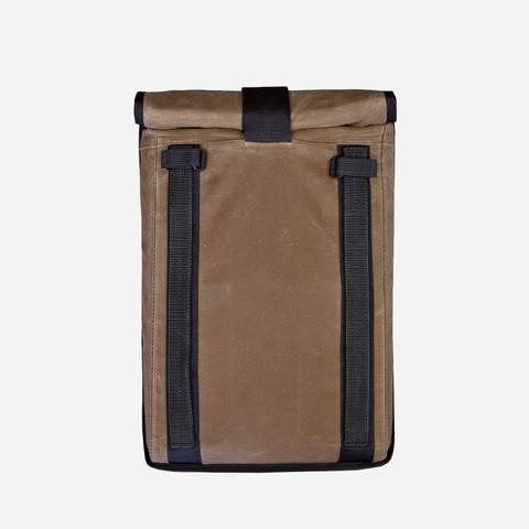 Mission Workshop - Arkiv Laptop Case Brown Waxed Canvas Laptop Sleeve