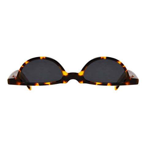 Christianah Jones - Kriss Kross Leopard Sunglasses / Smoke Lenses