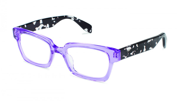Scojo New York - Burlington Avenue Majestic Purple Reader Eyeglasses / +1.75 Lenses