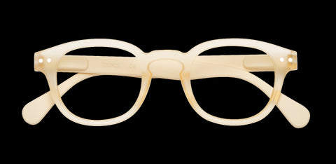 Izipizi - #C Neutral Beige Reader Eyeglasses / +2.50 Lenses