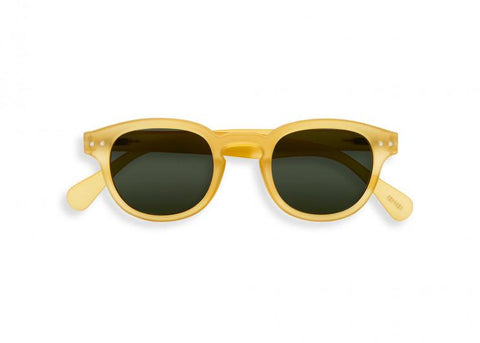 Izipizi - #C Yellow Honey Sunglasses / Grey Lenses