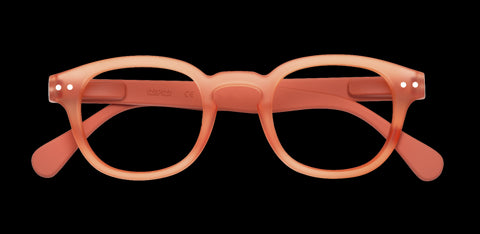 Izipizi - #C Warm Orange Reader Eyeglasses / +2.50 Lenses