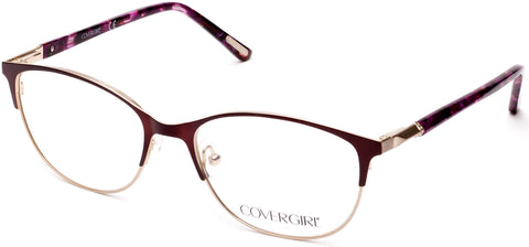Cover Girl - CG0540 Matte Bordeaux Eyeglasses / Demo Lenses