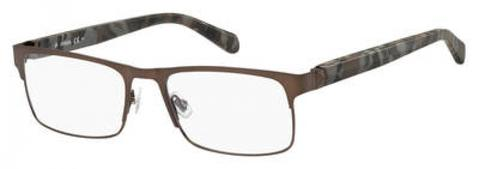 Fossil - Fos 7036 53mm Brown Eyeglasses / Demo Lenses