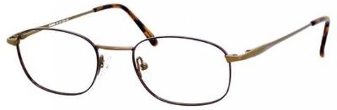 Denim Eyewear - 101 50mm Bronze Havana Eyeglasses / Demo Lenses