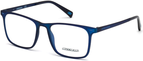 Skechers - SE3216 Matte Blue Eyeglasses / Demo Lenses