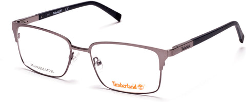 Timberland - TB1604 53mm Matte Gunmetal Eyeglasses / Demo Lenses