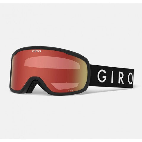 Giro - Roam Black Core Snow Goggles / Amber Scarlet + Yellow Lenses
