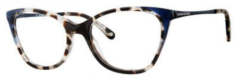 Banana Republic - Marcia 54mm White Black Spotted Tortoise Eyeglasses / Demo Lenses