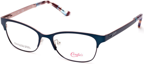Candie's - CA0506 Matte Turquoise Eyeglasses / Demo Lenses