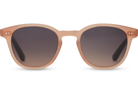TOMS - Wyatt Blush Sunglasses / Navy Pink Gradient Lenses